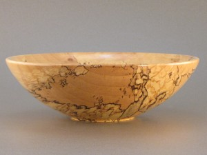 Spalted Maple - Finger lip bowl