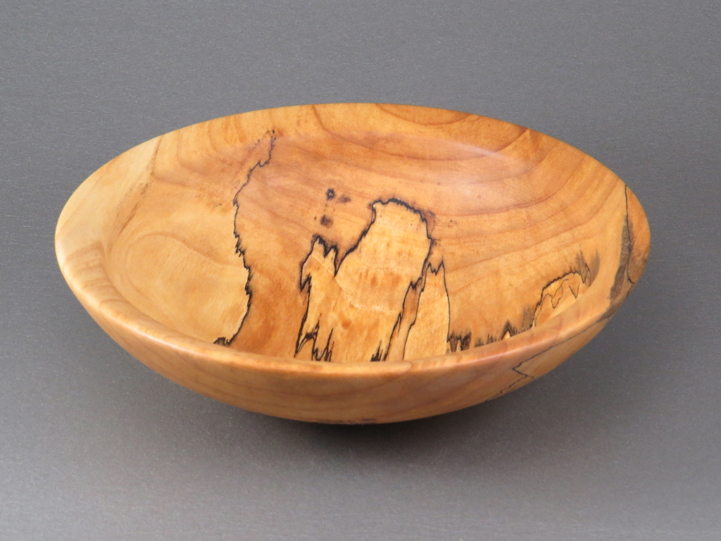 Shallow Spalted Maple